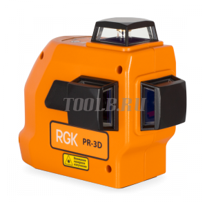 RGK PR-3D - лазерный нивелир