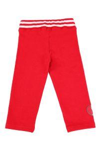 брюки для девочки с широким поясом
