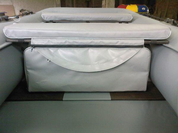 Накладка мягкая с сумкой под банку из ПВХ  MG