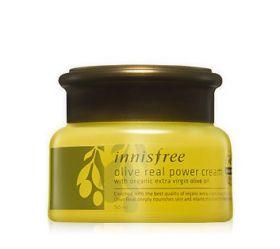 INNISFREE OLIVE REAL POWER CREAM 50ml - интенсивный питательный крем для лица с экстрактом оливы