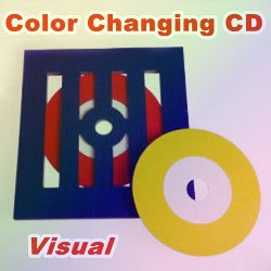 Визуальное изменение цвета диска