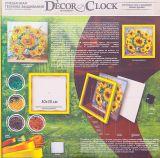 Набор для творчества Decor Clock Подсолнухи, Danko Toys