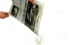 Вода в газете (+ ОБУЧЕНИЕ)