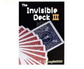 Фокусные карты Invisible Deck III