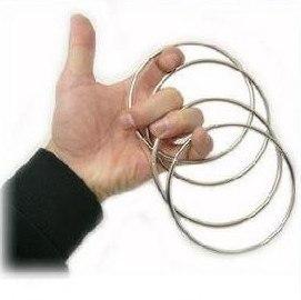 Сцепленные кольца 4,5' (11,43 см)- 4 шт - металл