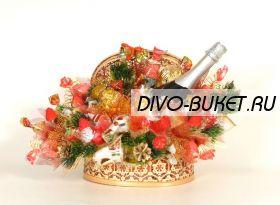 """Букет из конфет №519 """"Новый год"""""""