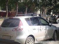 Багажник на крышу Renault Scenic 3, Атлант, аэродинамические дуги