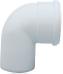 Отвод полипропиленовый 90°,  диам. 60 мм, HT   KHG 71407541
