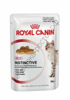 Royal Canin для кошек Instinctive in jely, пауч 85 гр. уп. 12 шт.