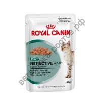 Royal Canin для кошек Instinctive +7, пауч 85 гр. уп. 12 шт.