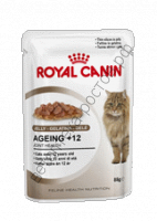 Royal Canin для кошек Ageing +12 в желе пауч 85 гр., уп. 12 шт.