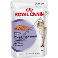 Royal Canin для кошек Digest Sensitive, пауч 100 гр. уп. 12 шт.