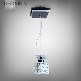 Люстра N&B light 10801 черн.глянец.бел.глянец.