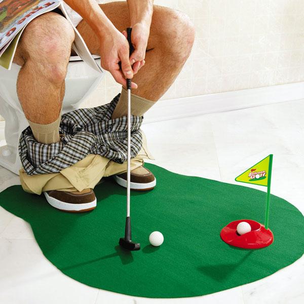 """Игра """"Туалетный мини-гольф"""""""