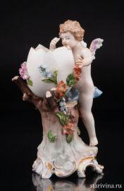 Ангелочек (Пасхальная композиция), Karl Thieme, Германия, 1888-1901 гг