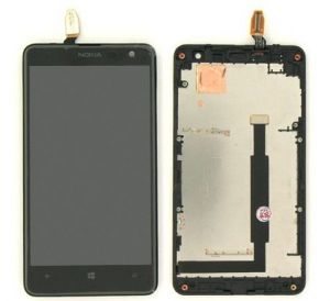 LCD (Дисплей) Nokia 625 Lumia (в сборе с тачскрином) (в раме)
