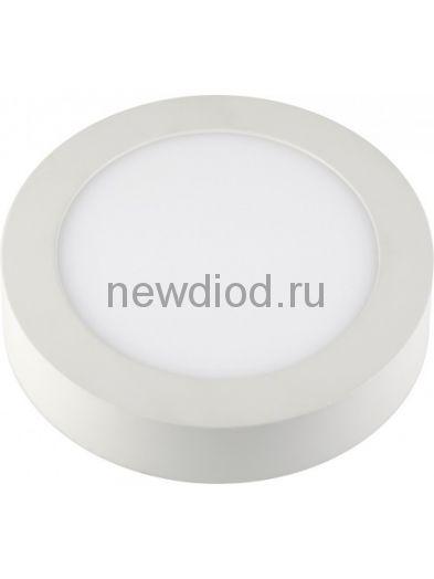 Панель светодиодная круглая NRLP-eco 18Вт 160-260В 4000К 1260Лм 225мм белая накладная IP40