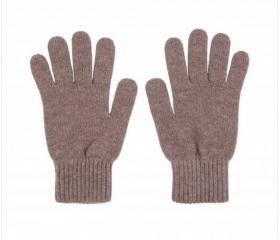 кашемировые перчатки женские (100% драгоценный кашемир) , цвет какао