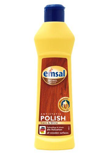 Emsal Очиститель-полироль для дерева (антистатическая формула), 0,25 л