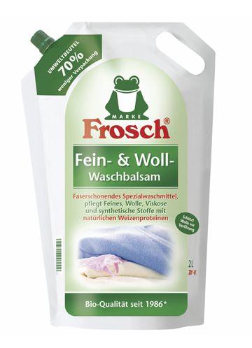 Frosch Бальзам для стирки шерстяных и нежных тканей 2 л