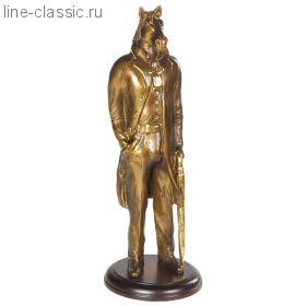 """Скульптура Империя Богачо """"Конь в пальто"""" 22508 Б"""