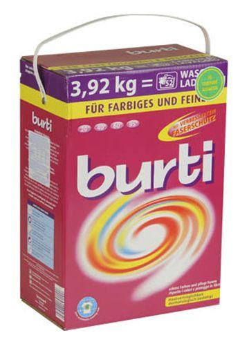 Burti Концентрированный cтиральный порошок для цветного и тонкого белья 3920 г