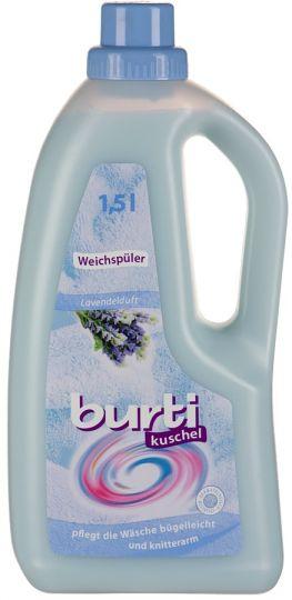 Burti Kushel концентрированный ополаскиватель с запахом лаванды, 1,5 л