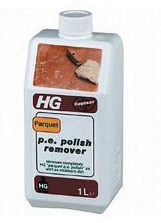 HG Средство для удаления полироля с паркета 1000 мл