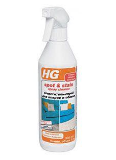 HG Очиститель-спрей для ковров и обивки 500 мл