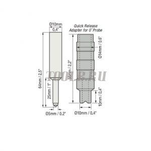 Датчик F0S для Defelsko PosiTector 6000