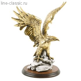 Скульптура Империя Богачо Орел большой золотой (22075 З)