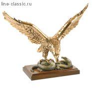 Скульптура Империя Богачо Орел со змеей (22078 Б)
