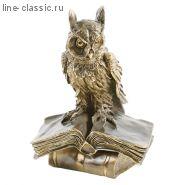 Скульптура Империя Богачо Ученый Филин (22139 Б)