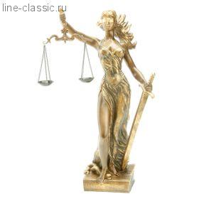 Скульптура Империя Богачо Фемида -3 (22416 Б)