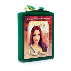 Аюрведическая лечебная краска для волос Медная Ааша Хербалс (AASHA Herbals), 100г