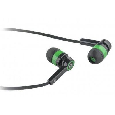 Гарнитура для смартфонов Pulse 420 черный + зеленый, вставки