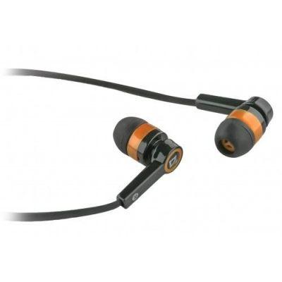 Гарнитура для смартфонов Pulse 420 черный + оранжевый, вставки
