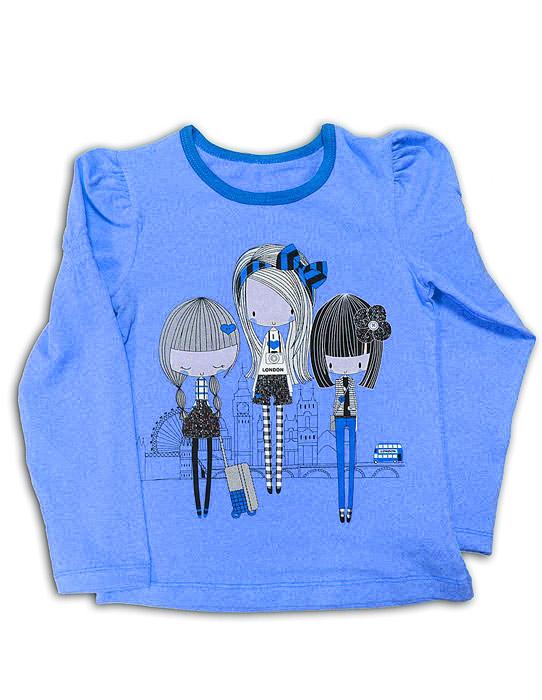 Блуза для девочки Девчата