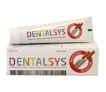 Корейская зубная паста Денталсис Никотар для курильщиков KeraSys Dental Clinic 125гр