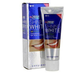 Зубная паста Сияющая белизна отбеливающая KeraSys Ю.Корея 100гр