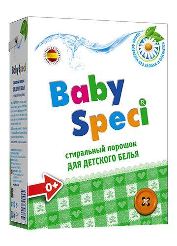 BabySpeci Стиральный порошок для детского белья, 1,8 кг