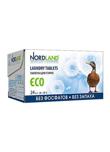 NORDLAND Таблетки для стирки ECO, 24 шт.х33,75 г.