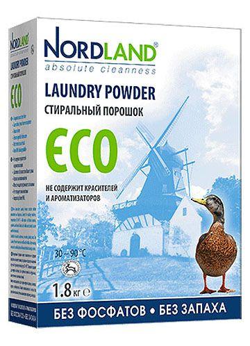 NORDLAND Стиральный порошок ECO,1,8 кг