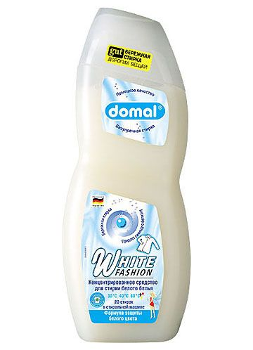 Domal White Fashion Концентрированное средство для стирки белого белья 750 мл
