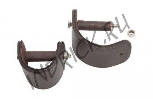 Переходник-крепление стремени в вестерн-путлище для разворота стремян под угол 90° к корпусу лошади