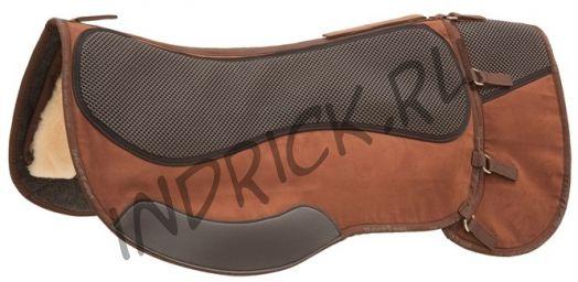 Физиопад Barefoot Trailpad с доп.частью для сумок (для седел с коротким крылом)