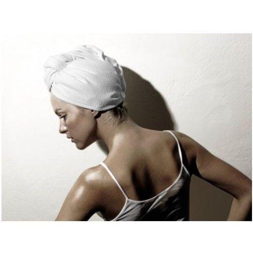 Белый Кот Тюрбан для сушки волос