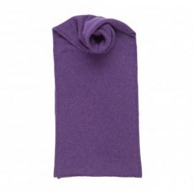 Теплая вязаная кашемировая шаль, высокая плотность, 100 % драгоценный кашемир ,цвет Сирени, плотность 8