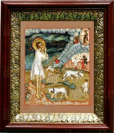 Артемий Веркольский (19х22), темный киот
