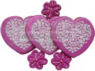Сладкие подарки для женщин Пряники Валентинки «LOVE»